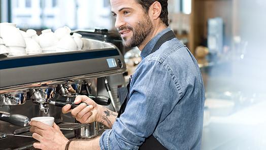BRITA Wasserfilter für Cafés und Bäckereien