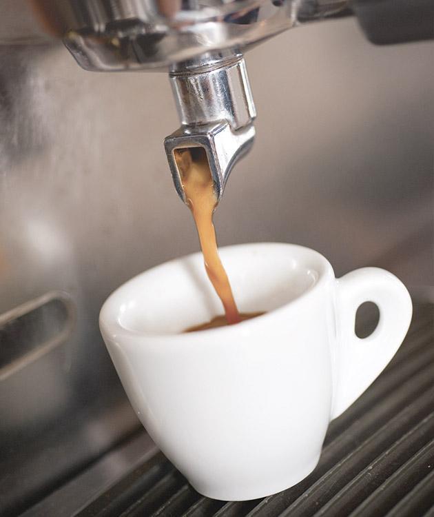 BRITA Kaffee Zubereitung Espresso