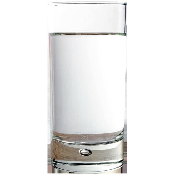 BRITA persönlicher Wasserbedarf Glas Wasser