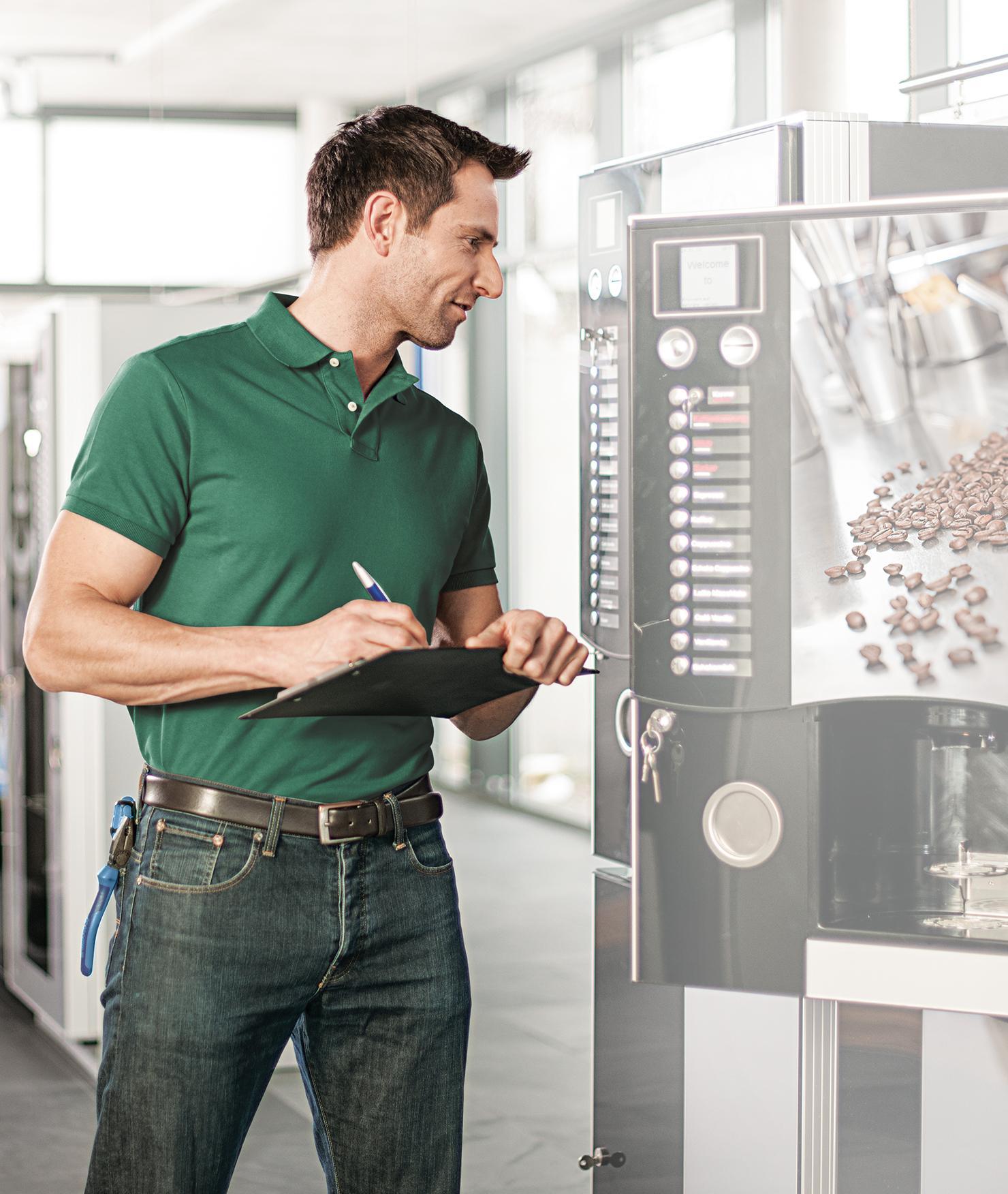 BRITA Verkaufsautomat technischer Kundendienst