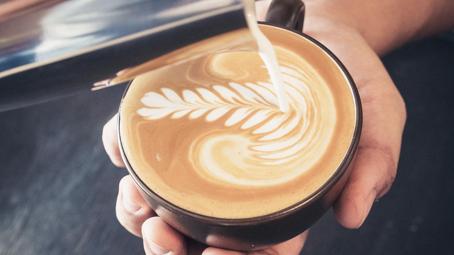 BRITA filter AquaGusto coffee crema cappuccino art
