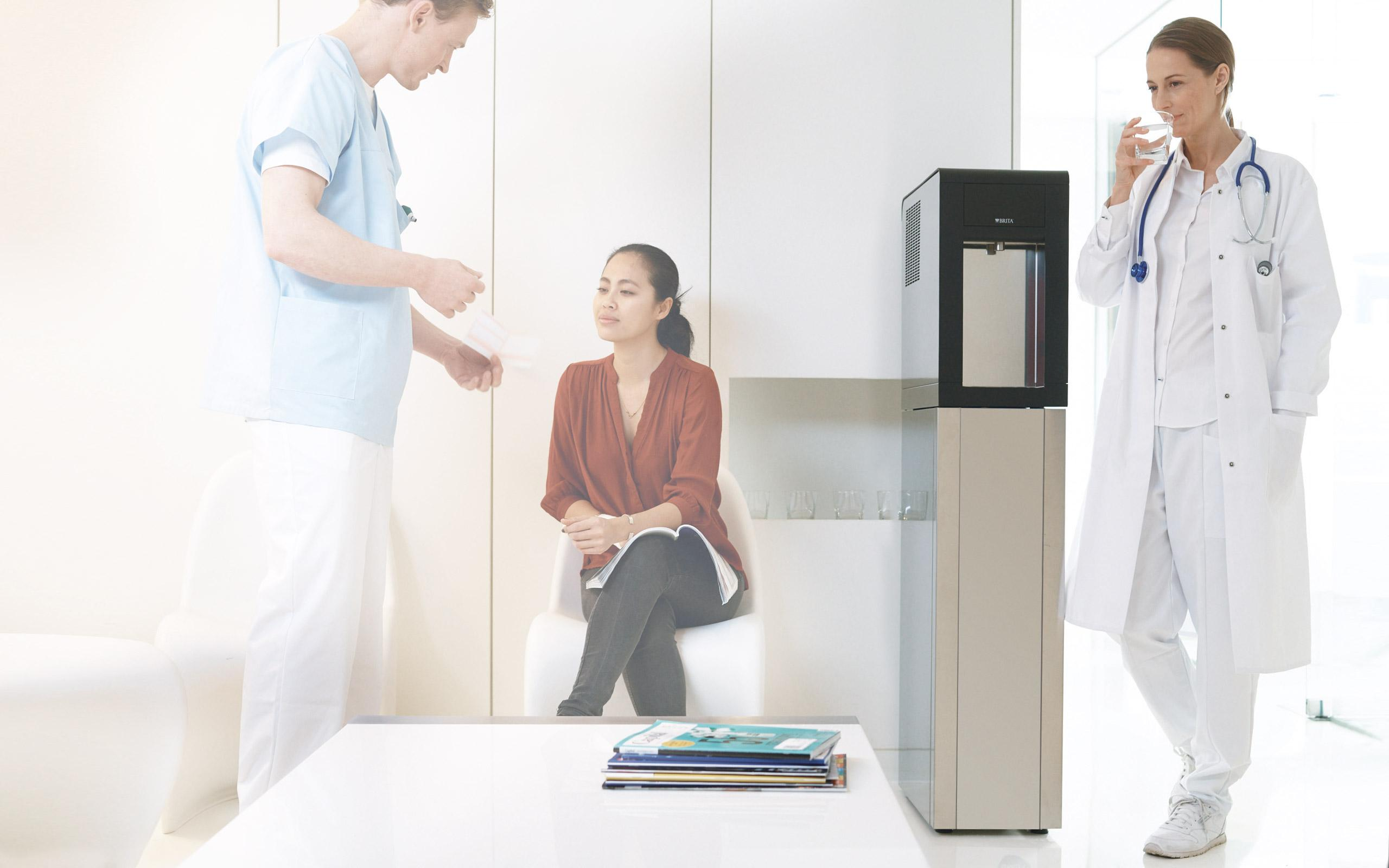 BRITA VIVREAU Sodamaster 200 discussion médecin
