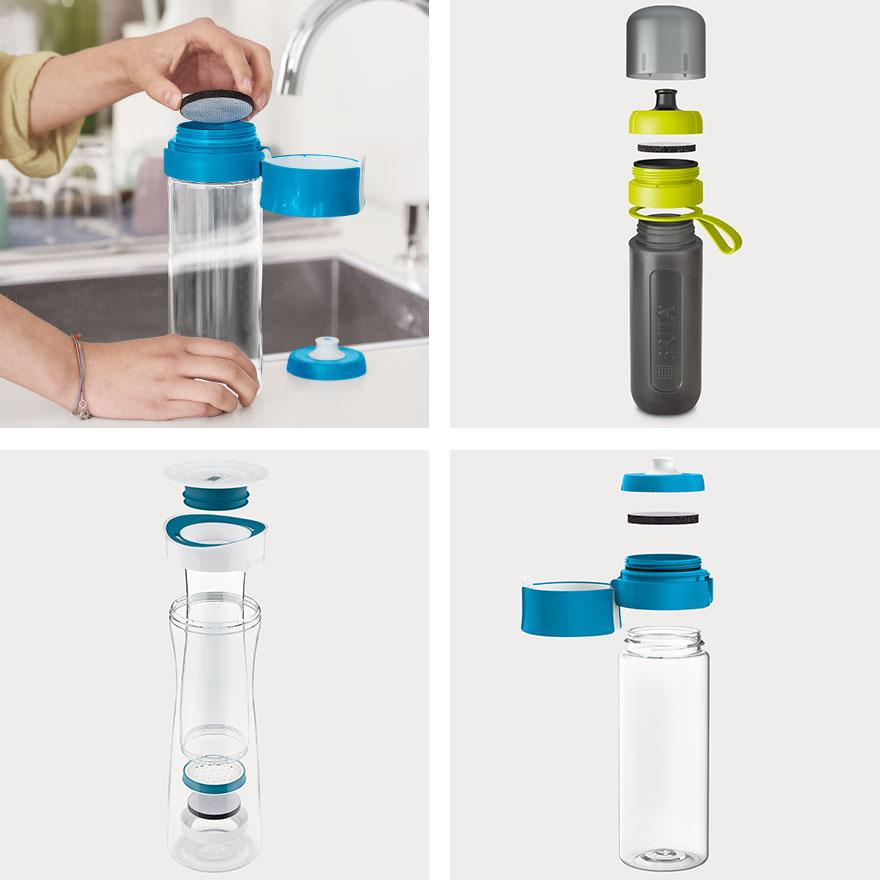 BRITA MicroDisc 6 pack collage