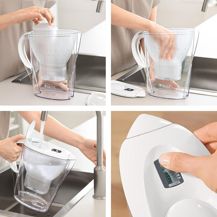BRITA fill&enjoy Marella collage