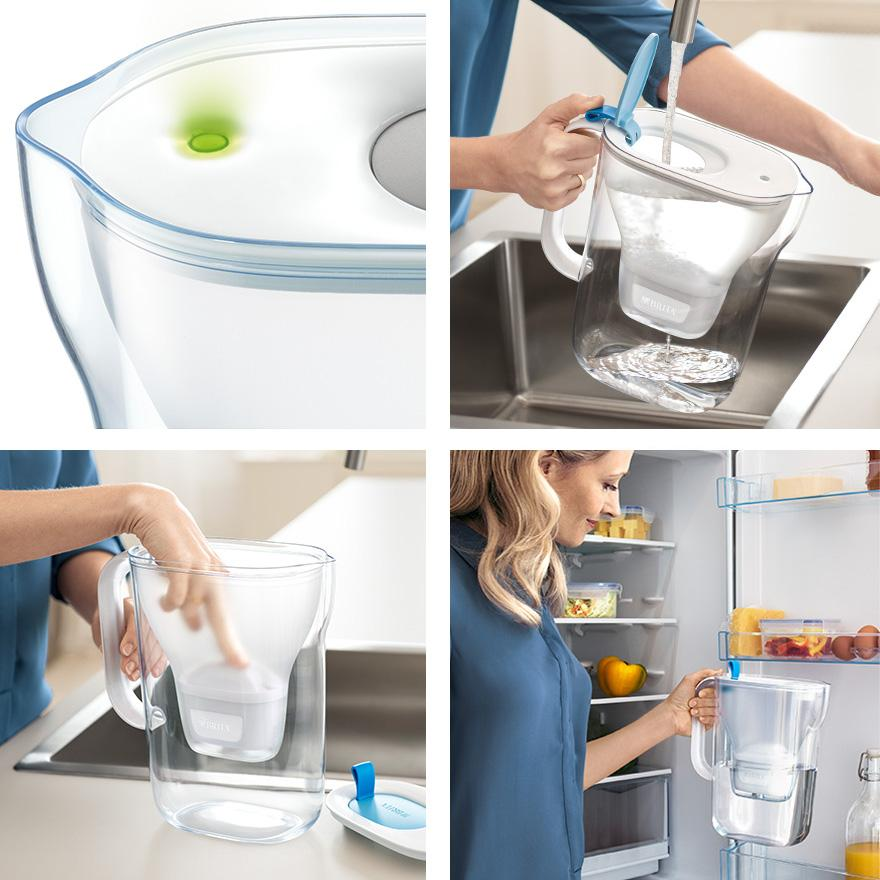 BRITA fill&enjoy Style collage