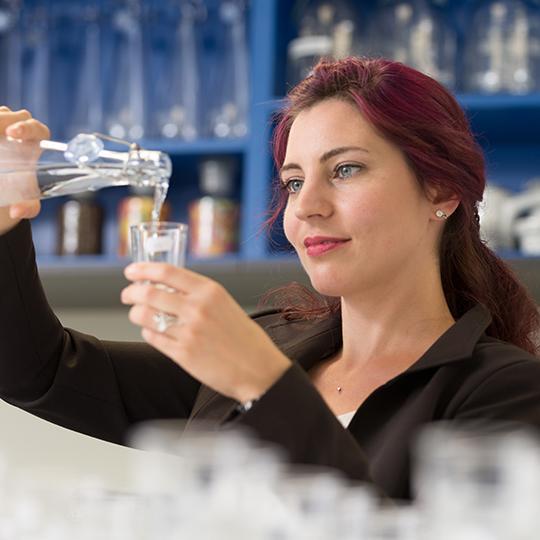 Laboratorio sensorial de BRITA Birgit Kohler