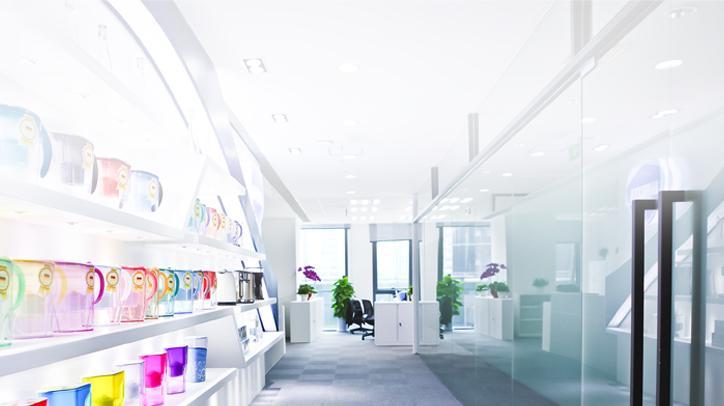 BRITA história showroom de produtos china