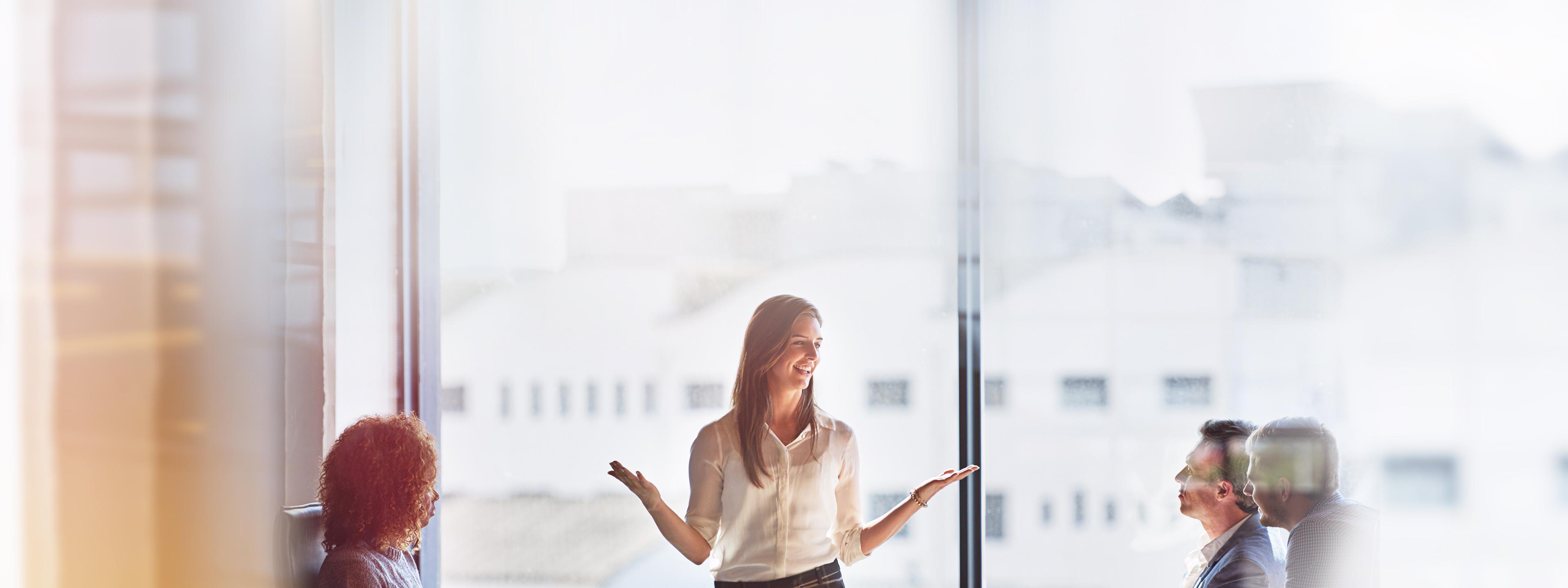 BRITA Vision Unternehmenskultur Geschäftstreffen