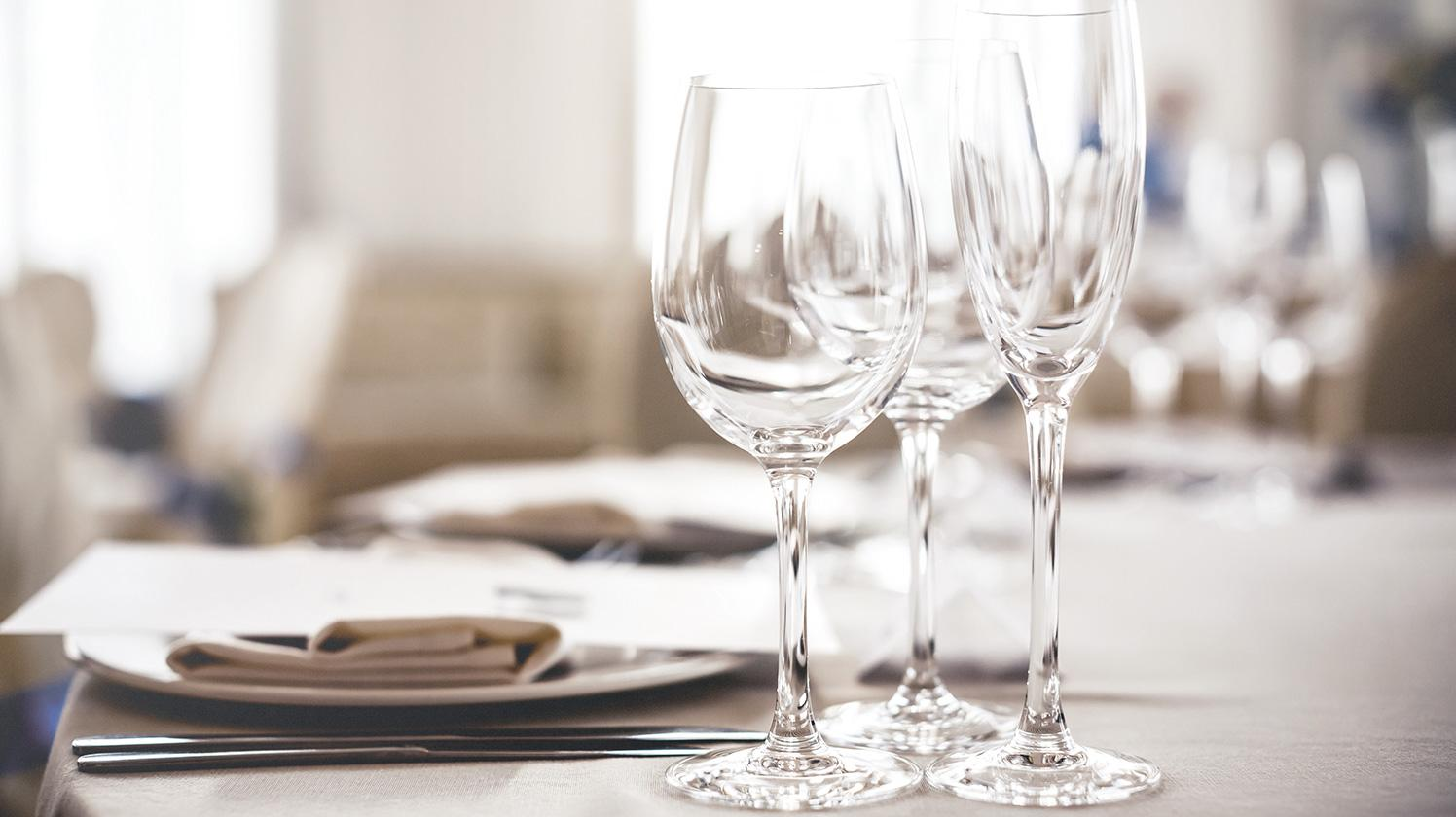 BRITA filter PURITY Clean fine dining restaurant