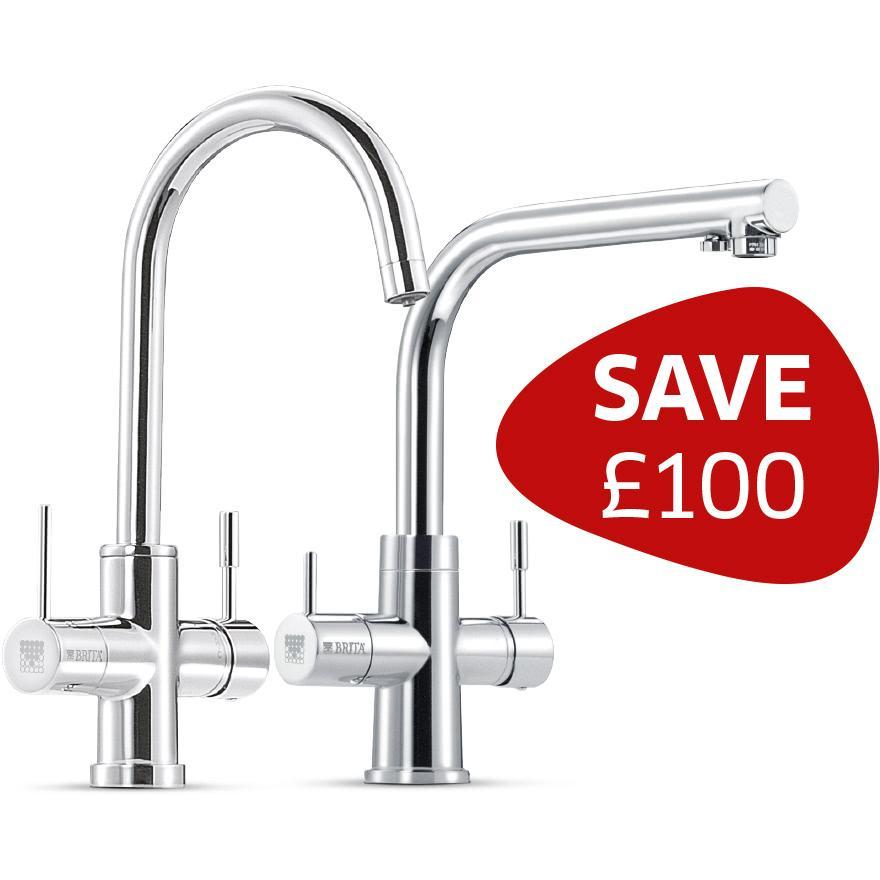 Our BRITA filter tap range