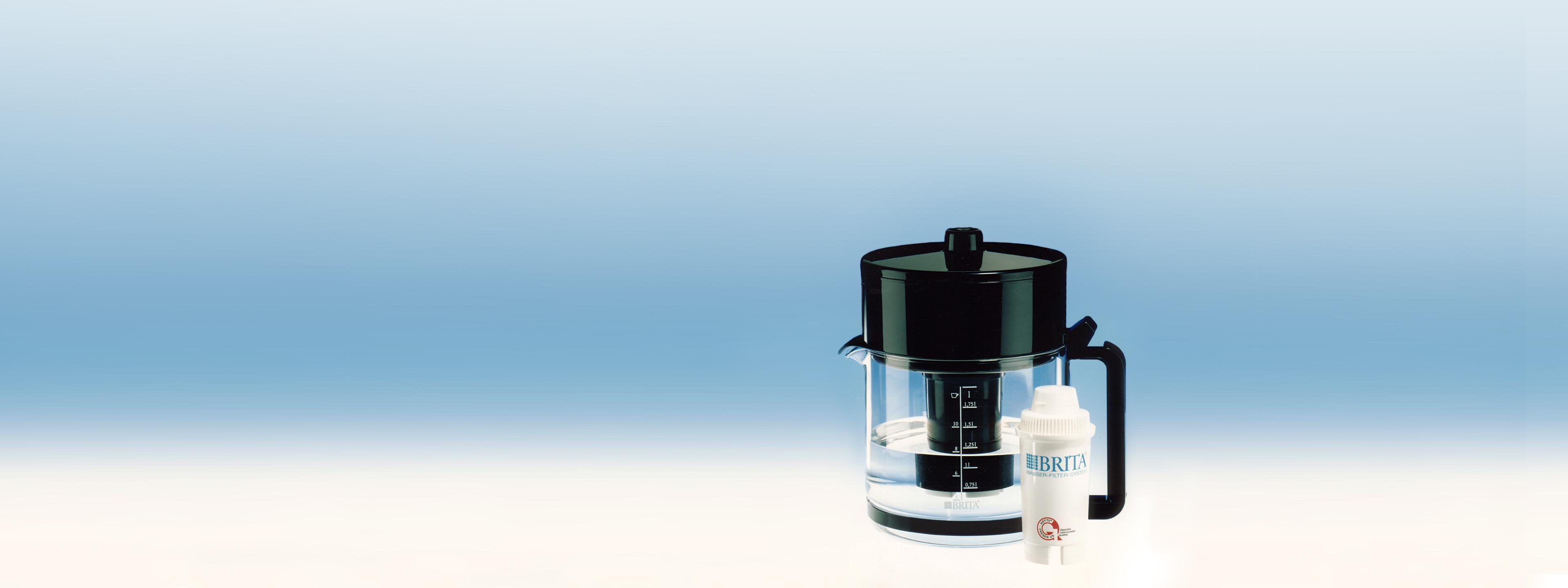 BRITA Geschichte Aqualux Wasserfilter