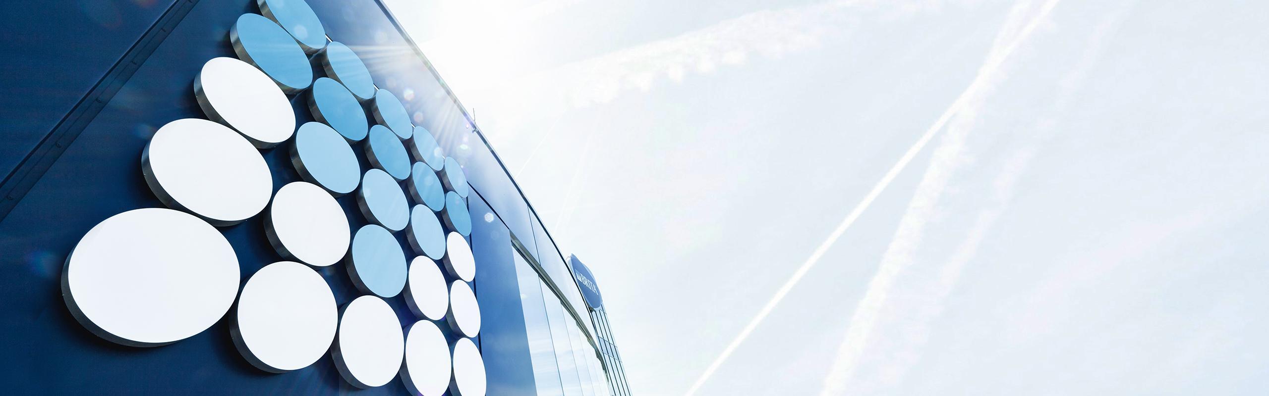 BRITA über BRITA Gebäudedetail Firmenzentrale