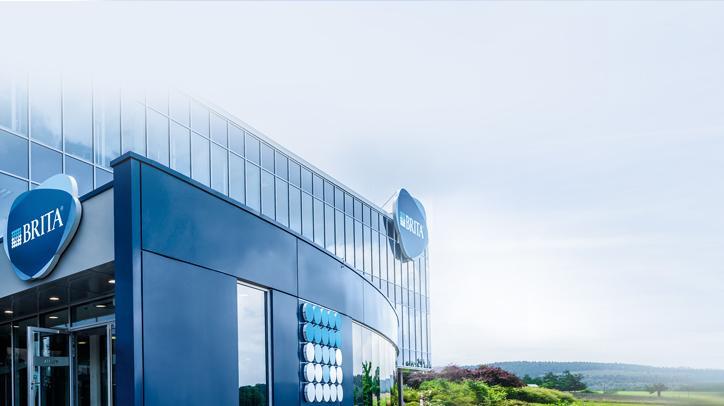 BRITA loopbaan hoofdkantoor vooraanzicht