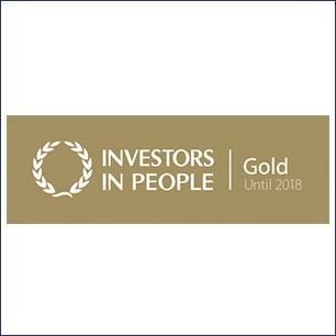 BRITA vision investors in people gold