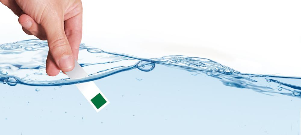BRITA test dureza del agua