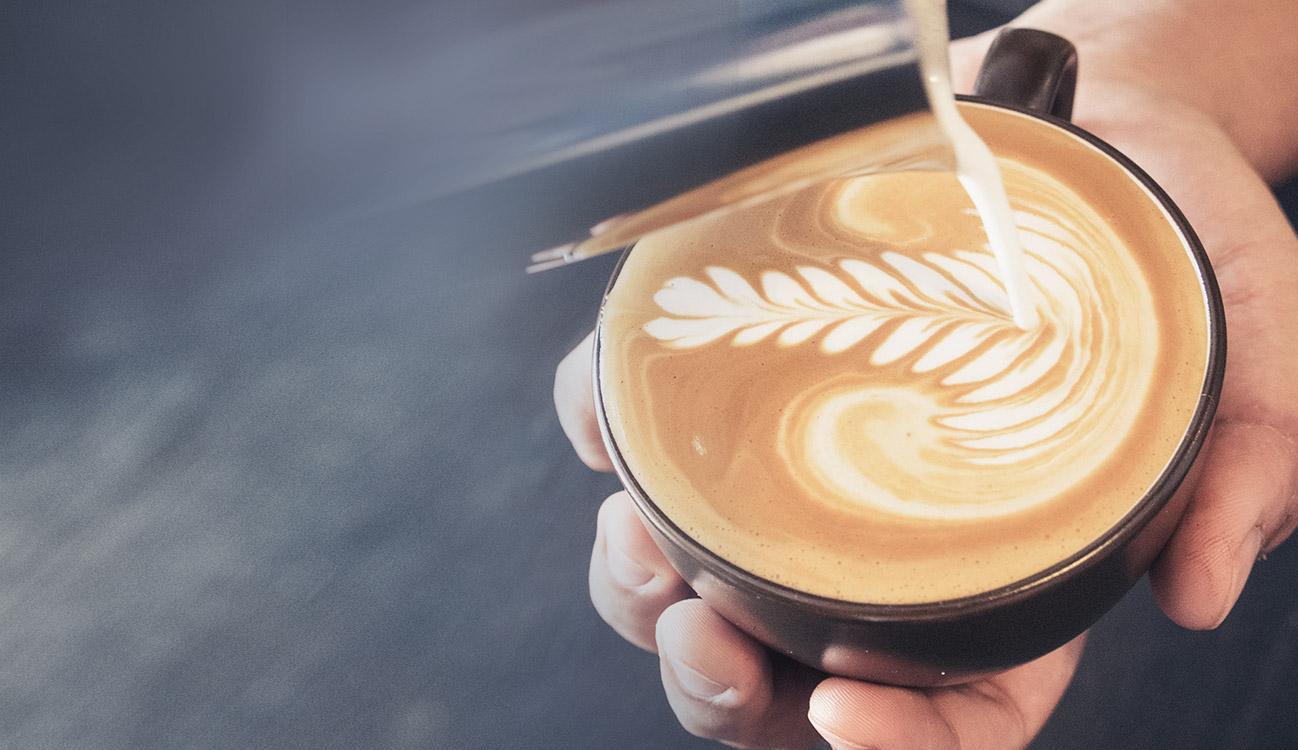 BRITA café barista café crème