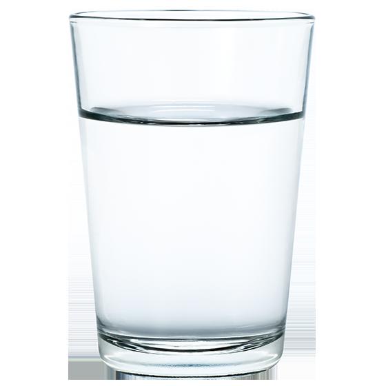 BRITA geschiedenis glas water