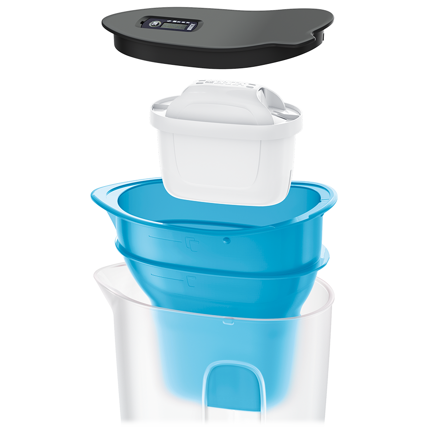 BRITA fill&enjoy Fun blue explosie