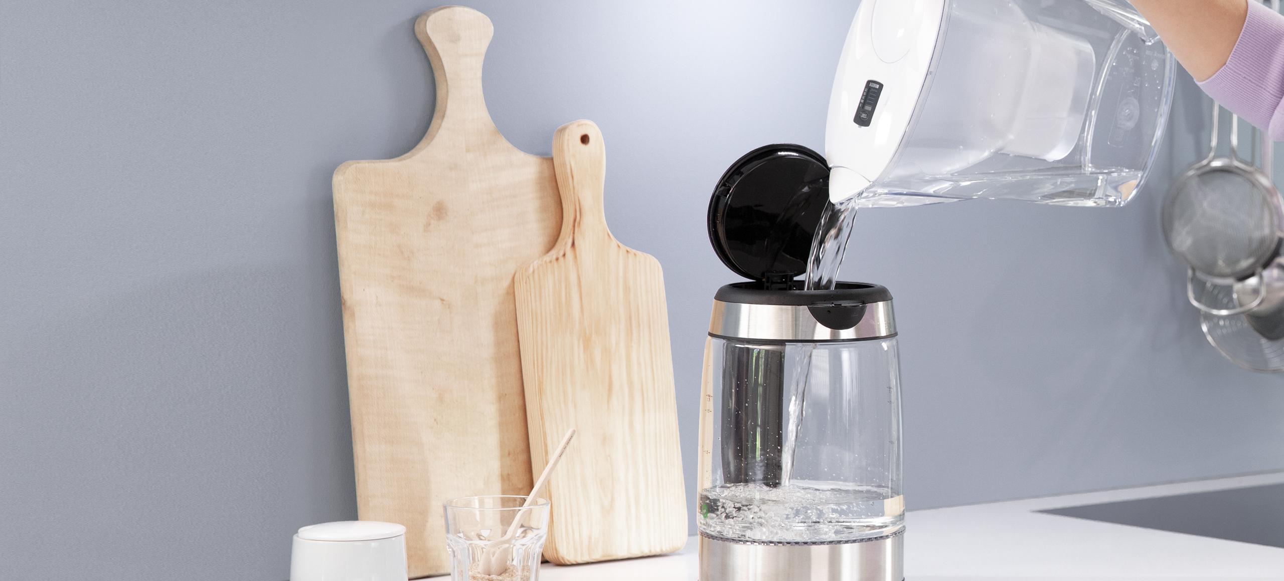 Marella Wasserfilter und Wasserkocher