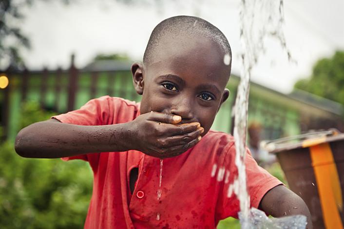 BRITA Nachhaltigkeit Allegra-Stiftung Wasserfall