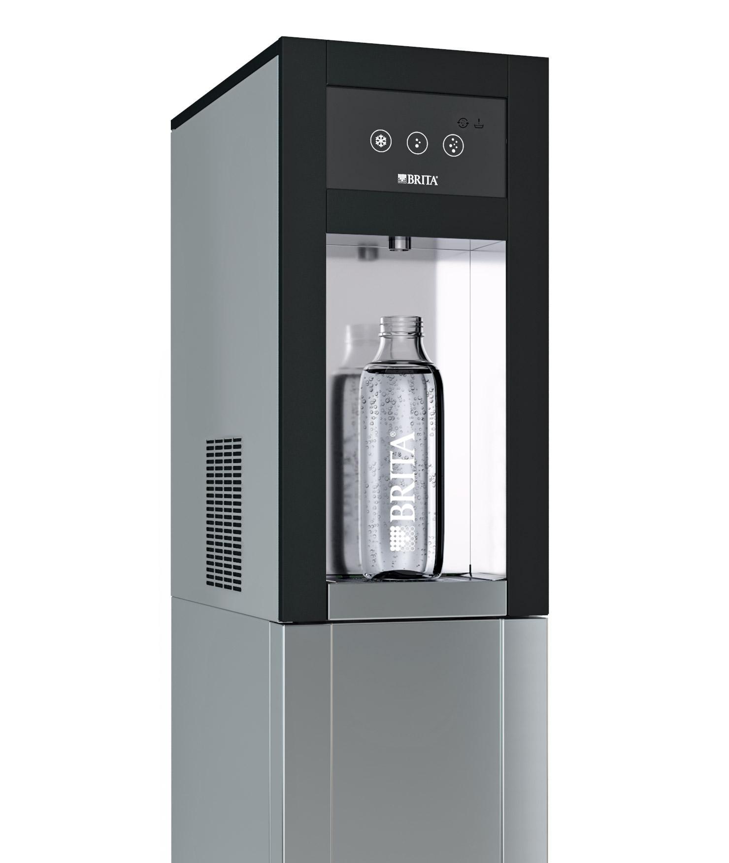 Prevención residuos de BRITA Sodamaster y botella