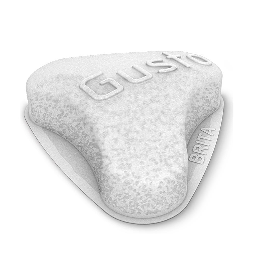 BRITA Filter AquaGusto Pad Frontansicht
