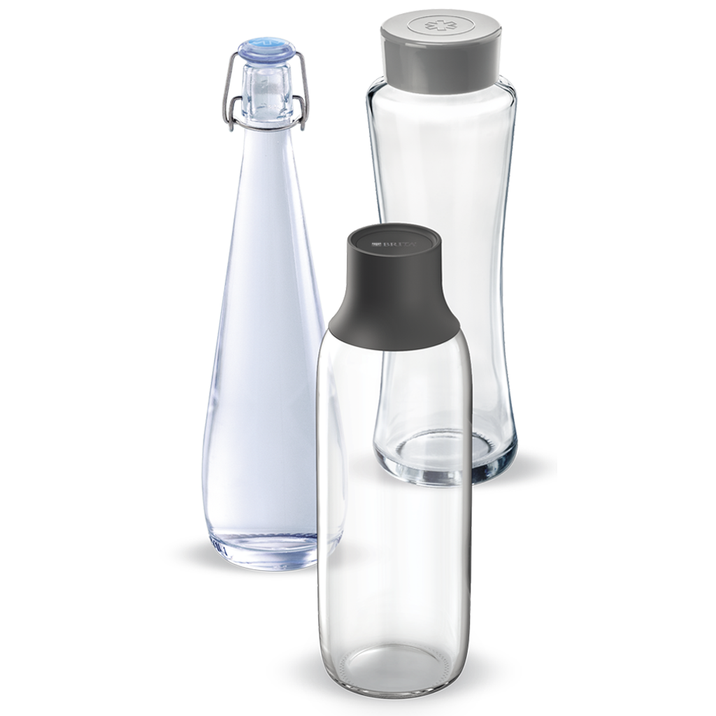 BRITA dispenser Wave, Twist & Swing Bottles range