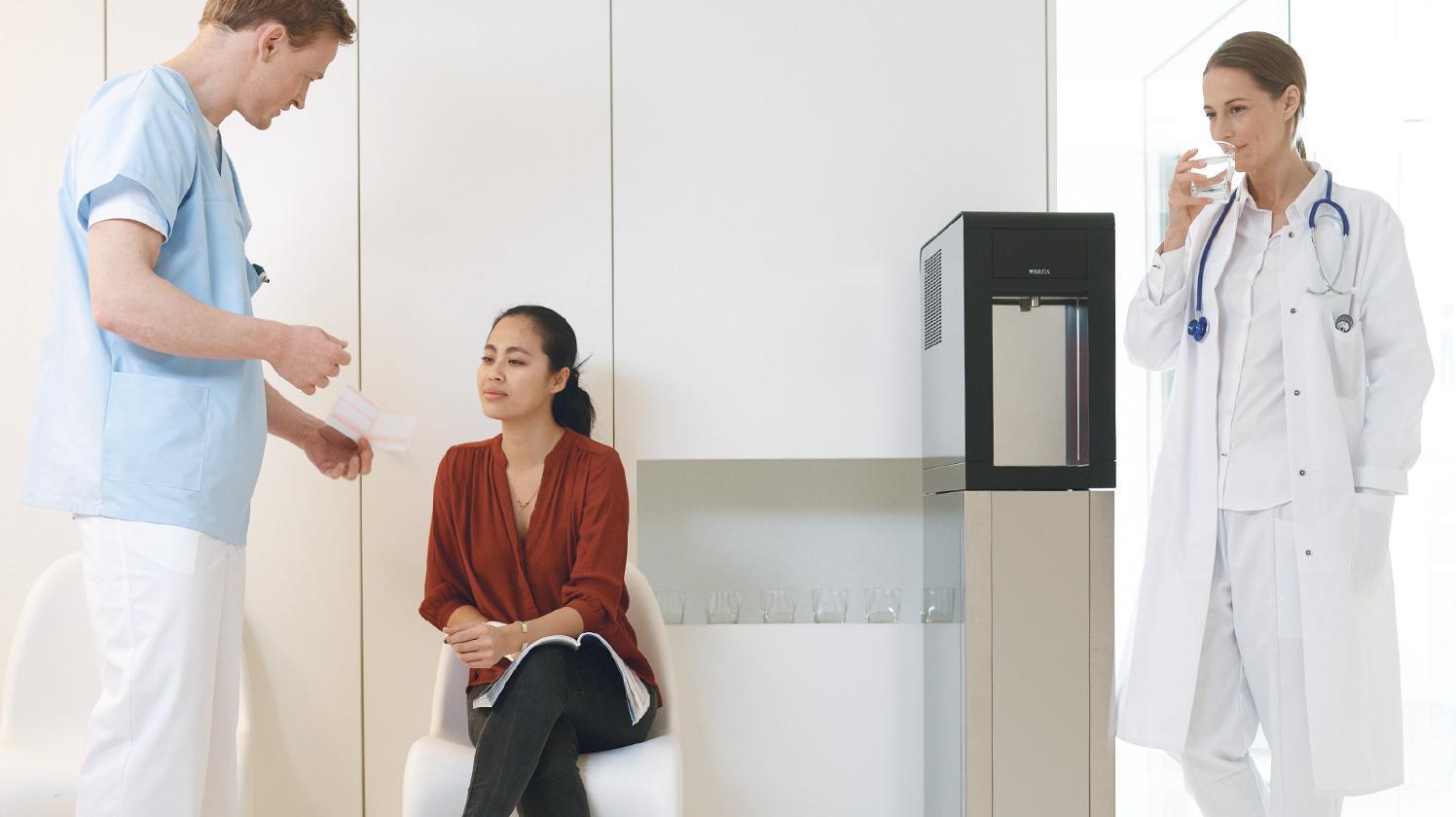 BRITA dispenser VIVREAU Sodamaster 200 anteroom