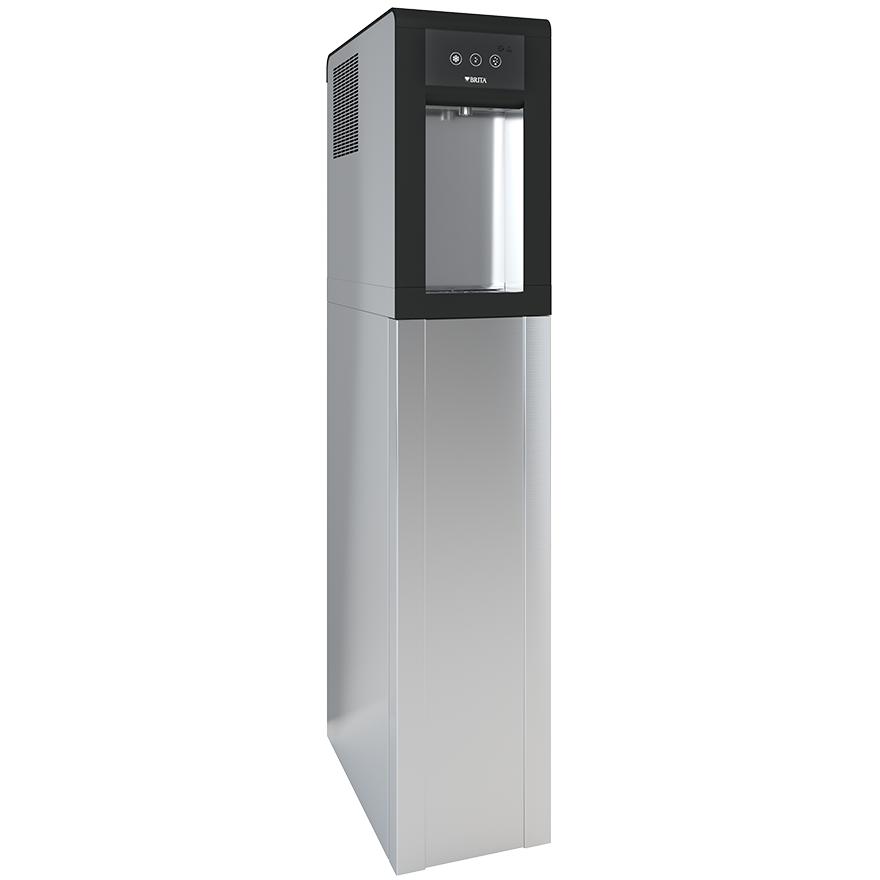 BRITA dispenser VIVREAU Sodamaster 200 side view