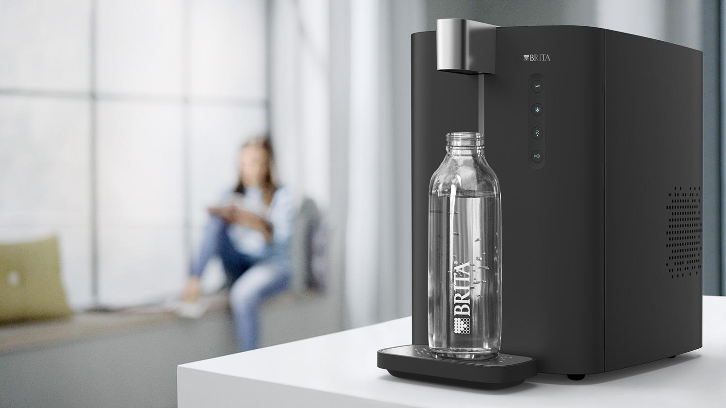 BRITA dispenser VIVREA Top 15 tafelmodel fles