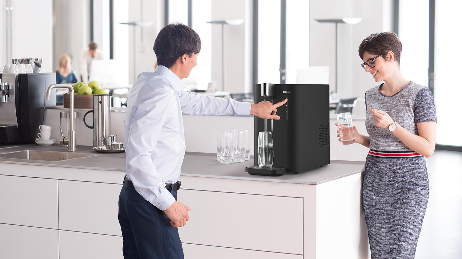 BRITA dispenser VIVREAU Top 15 Corporate kitchen