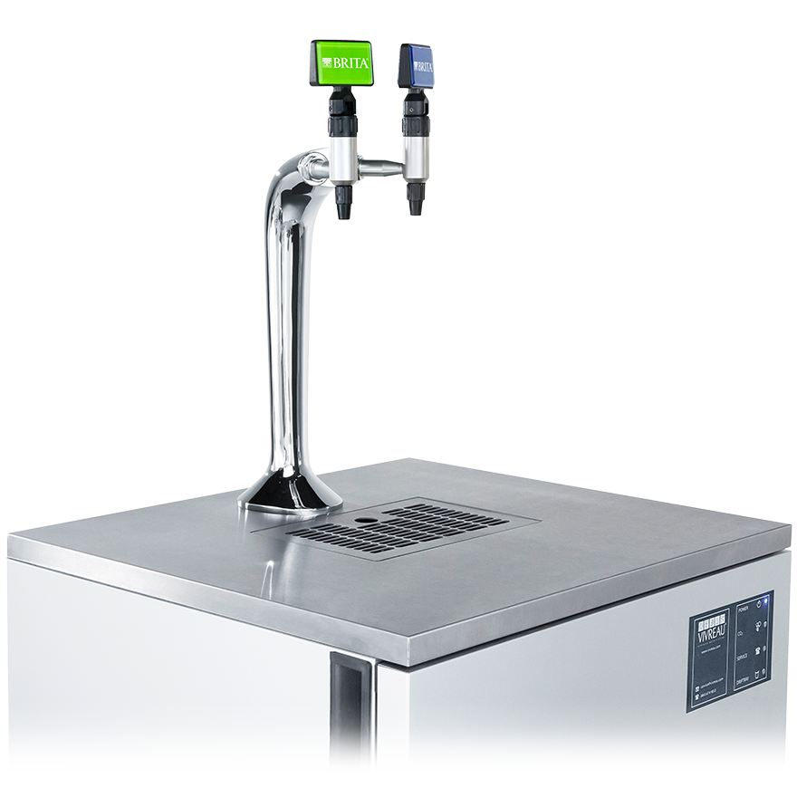 BRITA VIVREAU Bottler side view