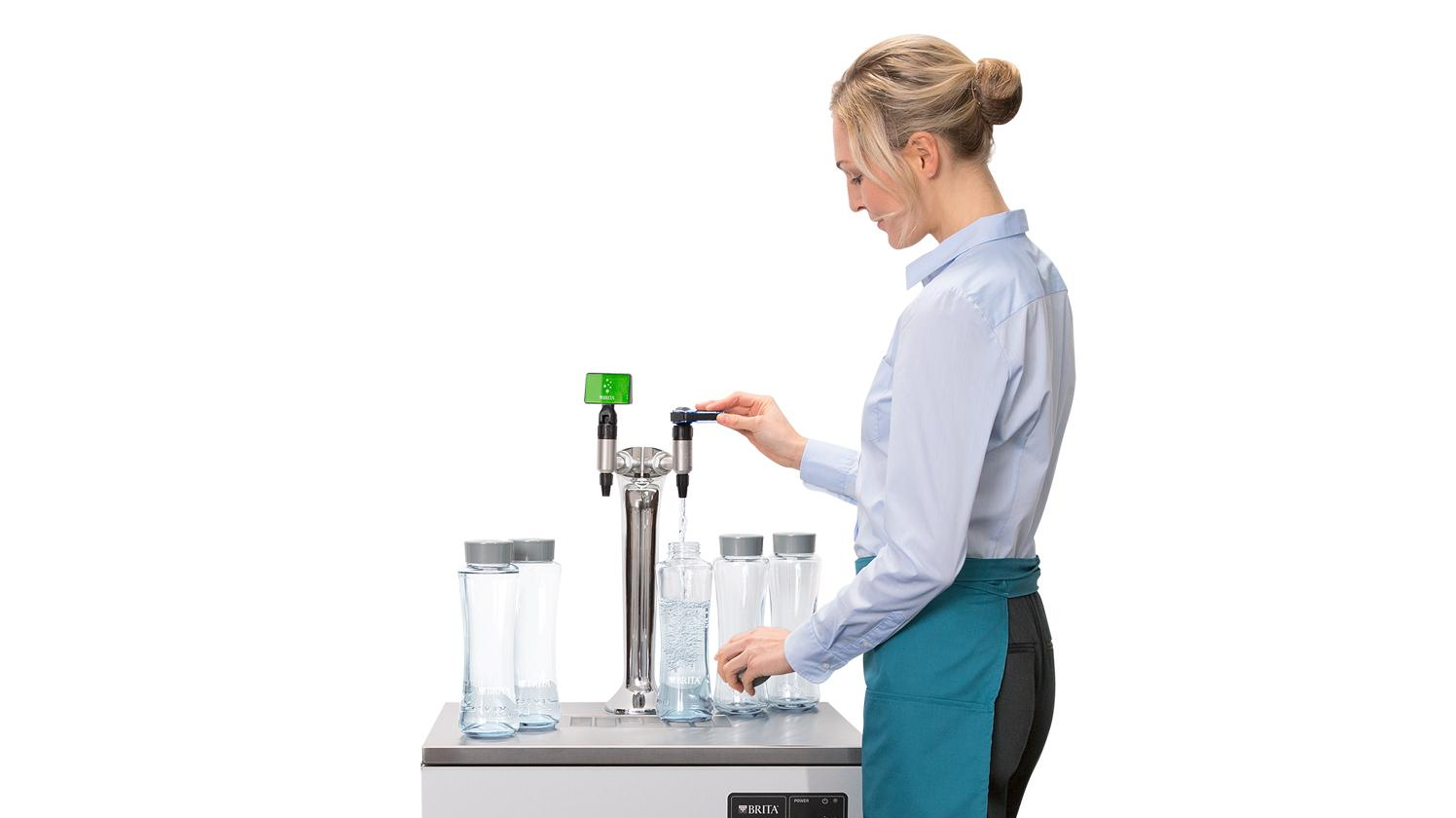 BRITA dispenser VIVREAU Bottler Swing Twist Wave