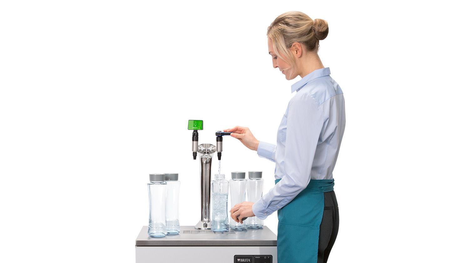BRITA dispenser VIVREAU Bottler Swing Twist Wave