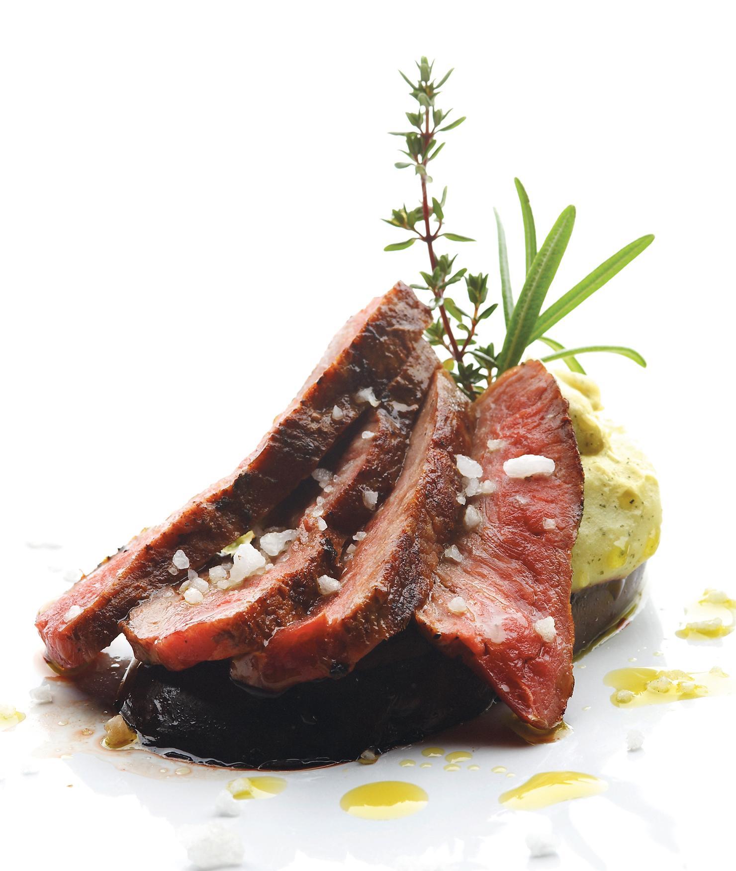 BRITA restaurante de lujo carne