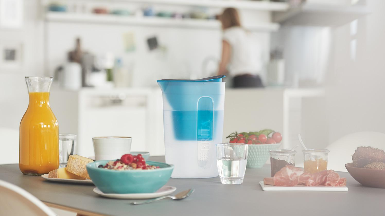 BRITA fill&enjoy Fun pink kitchen breakfast