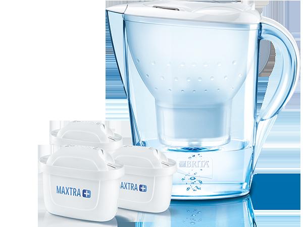 Filtre à eau BRITA Marella blanc