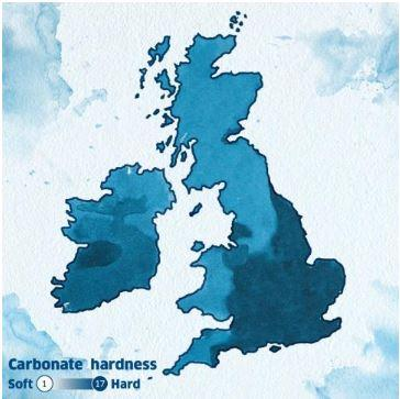 UK water map