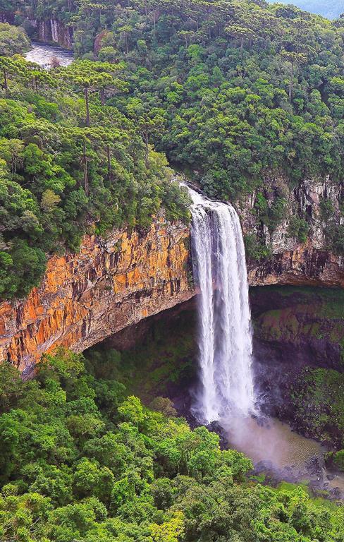 Wasserfall - Nachhaltigkeit
