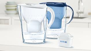 BRITA fill&enjoy Marella white and blue