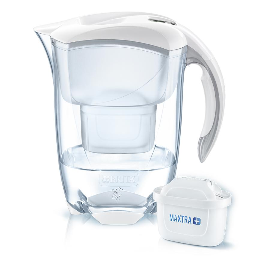 BRITA fill&enjoy Elemaris white and MAXTRA+