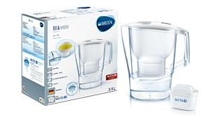 BRITA fill&enjoy Aluna white package