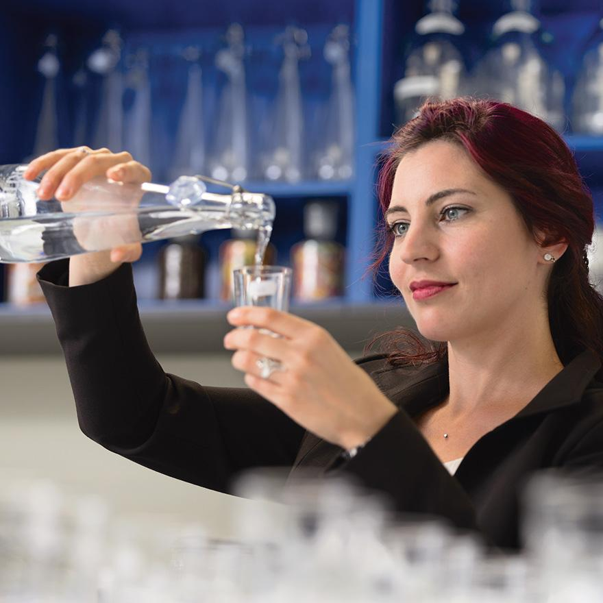 Birgit Kohler, Wasser-Sommelière bei BRITA