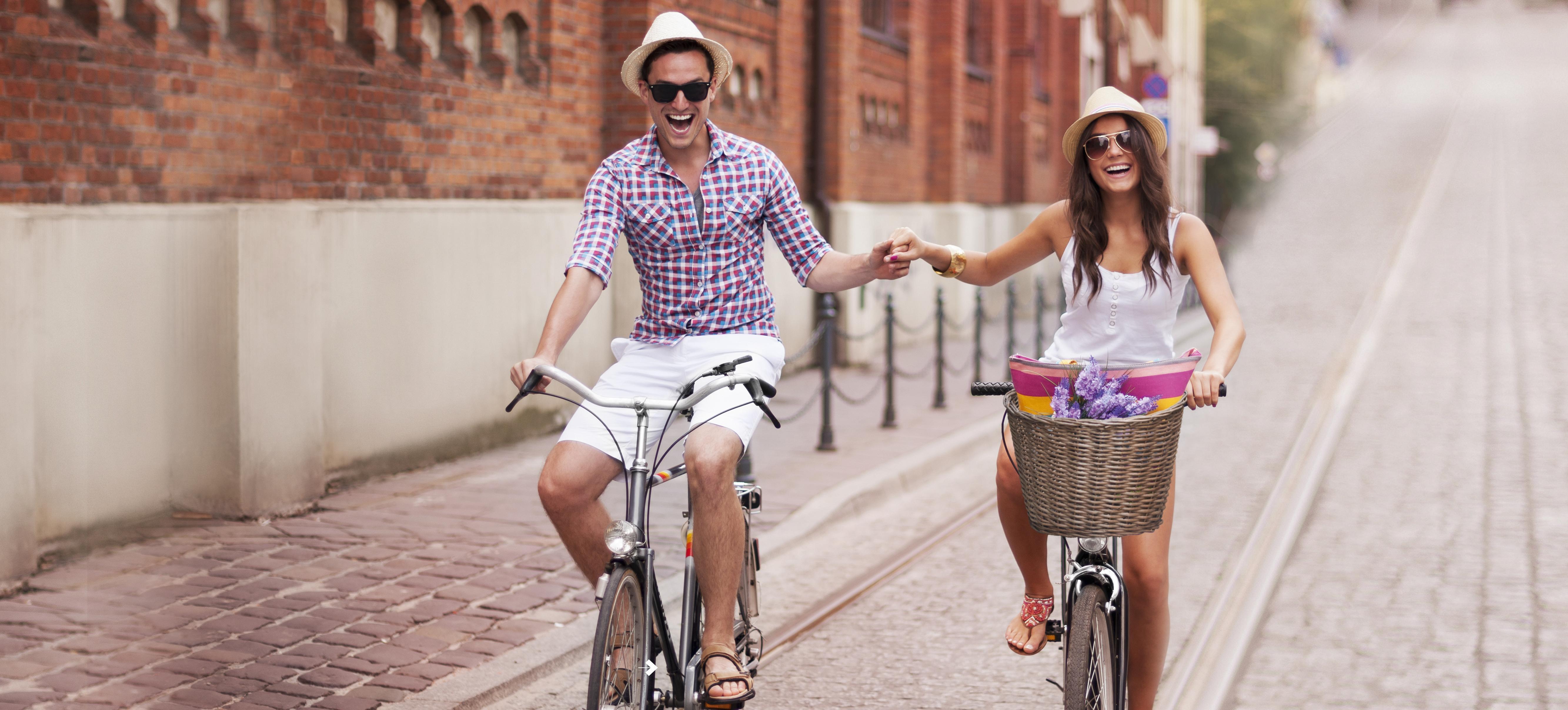 Couple Bike mobil