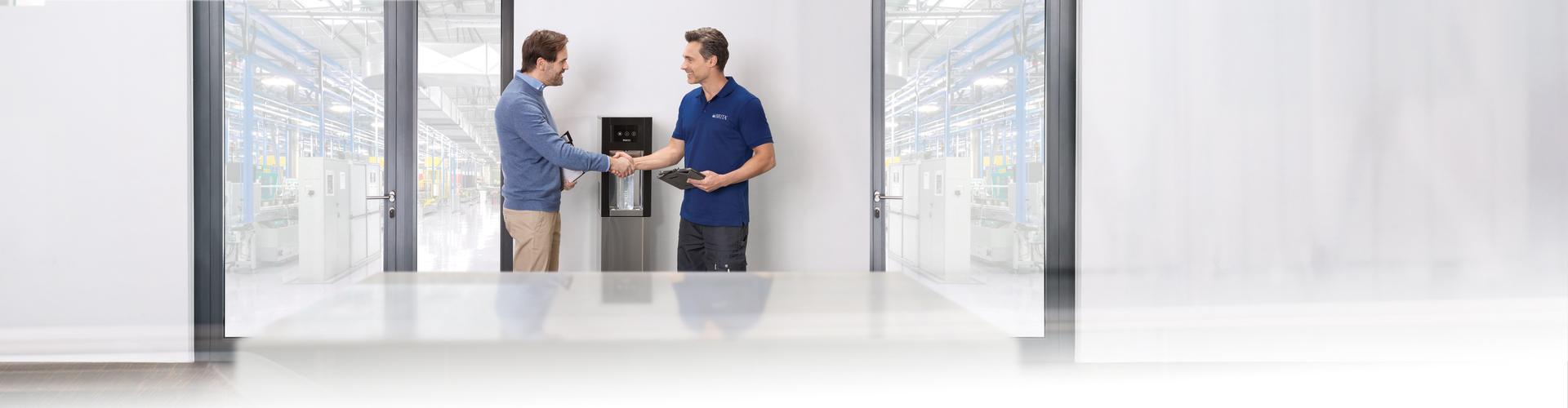 service premium des fontaines à eau brita