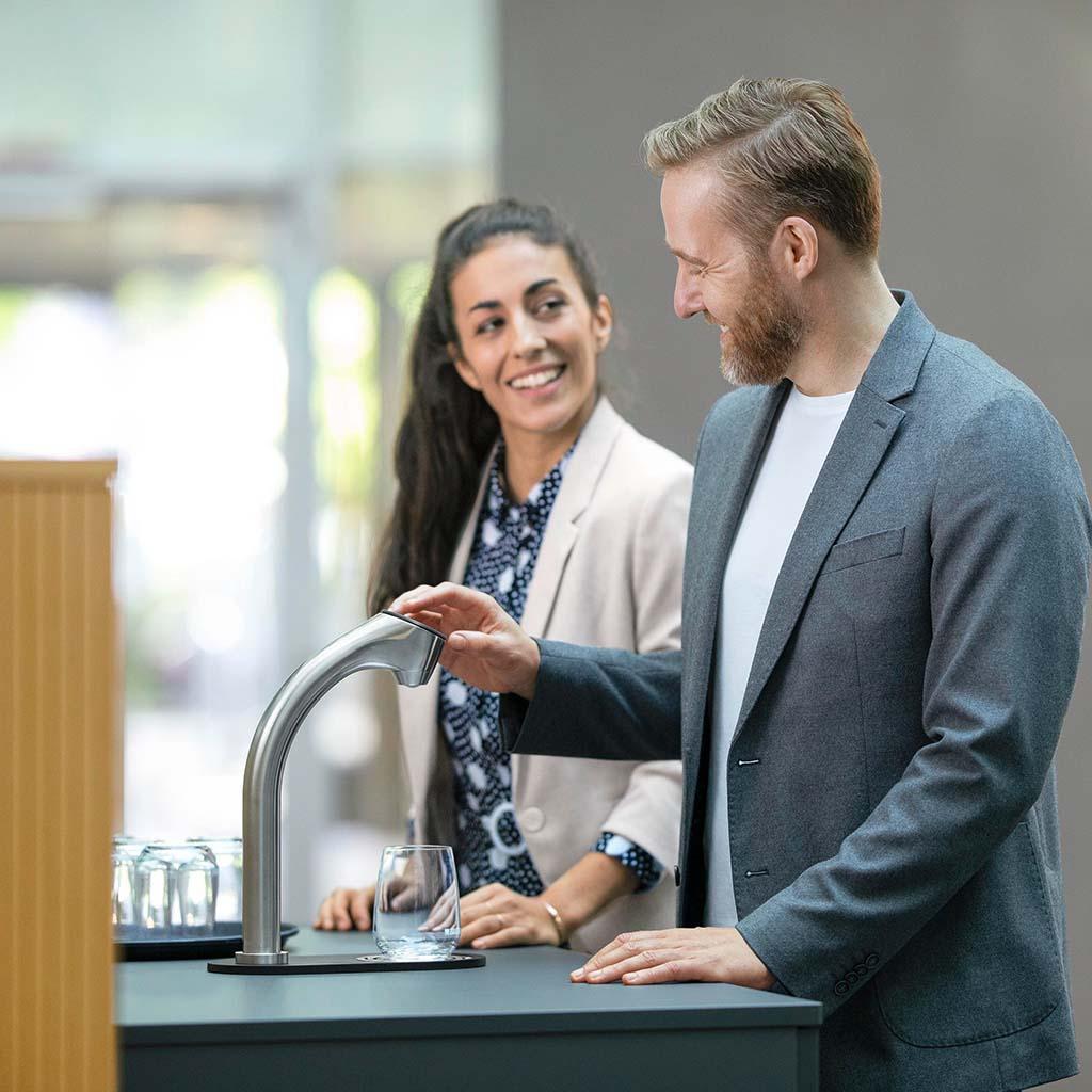 fontaine à eau brita vitap pour entreprise