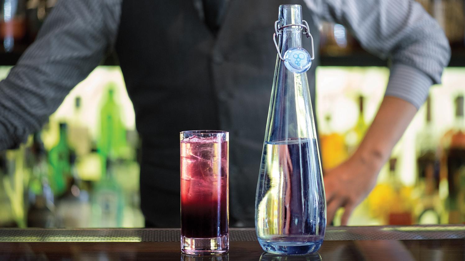 bouteilles swing brita pour cocktails