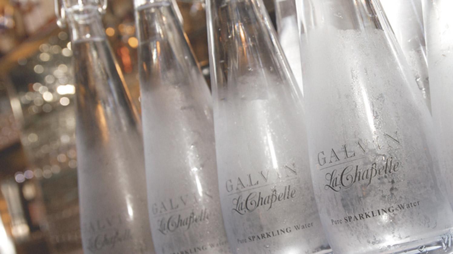 bouteilles swing brita personnalisées pour horeca