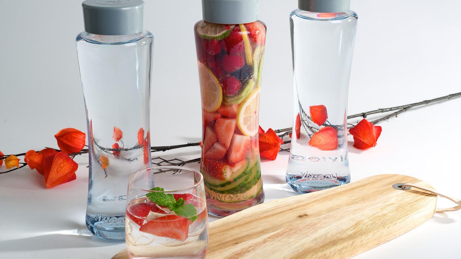 bouteilles twist brita avec fruits