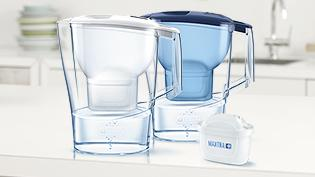 BRITA fill&enjoy Aluna white and blue